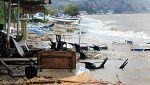 Наводнение в района на Солун взе една жертва
