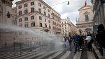 В Милано и Рим се проведоха протести срещу