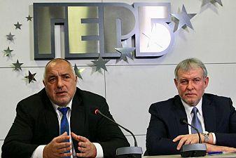 ГЕРБ отива на изборите в коалиция със СДС