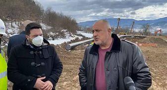 Борисов провери новия газопровод с Гърция (Видео)