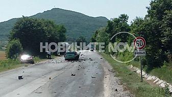 Верижна катастрофа затвори пътя София-Варна, загинаха мъж и жена