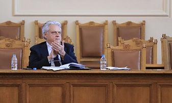 Бойко Рашков и Стойчо Кацаров на отчет при депутатите