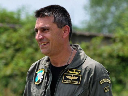 Майор Валентин Терзиев е загинал след инцидента с МиГ-29