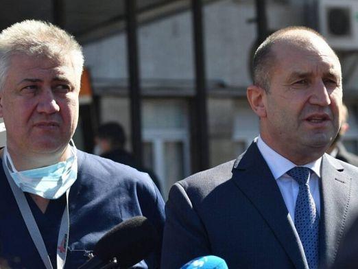 Балтов и Тафров срещу Радев за президент